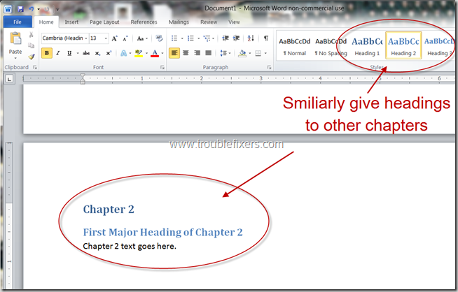 Generate Table Of Content In Microsoft Office Word (8)