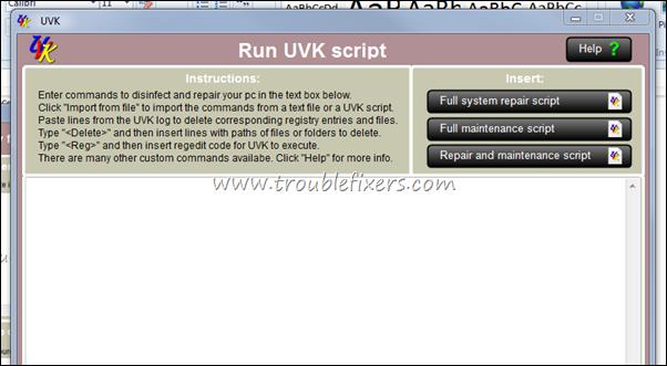 UVK Script