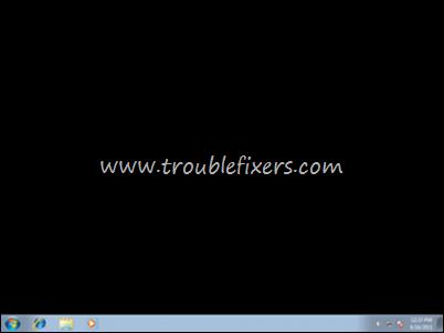 Windows Black Desktop Wallpaper