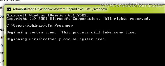 Windows System Scan
