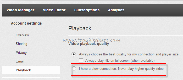 Avoid Youtube Video To Stop or Stuck While Playing - TroubleFixers