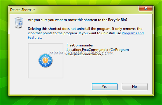 delete files moved to recycle bin