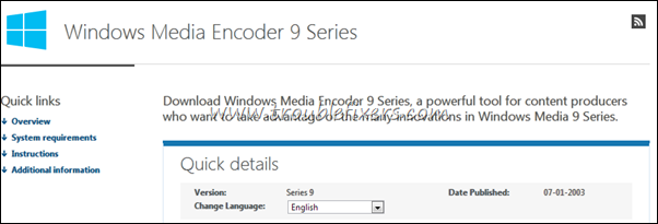 windows media encoder