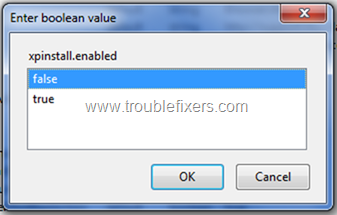 Disable Firefx Add-ons (4)