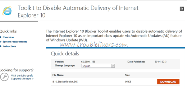 IE_Version_Number_Upgrade_Blocker