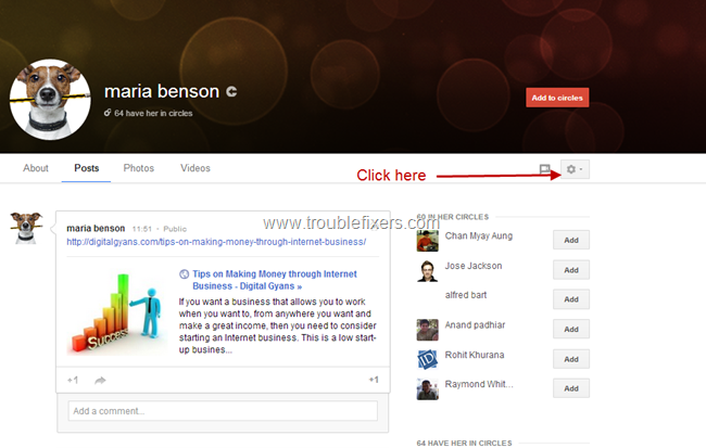 Block Google Plus Notifications From Specific User (2)