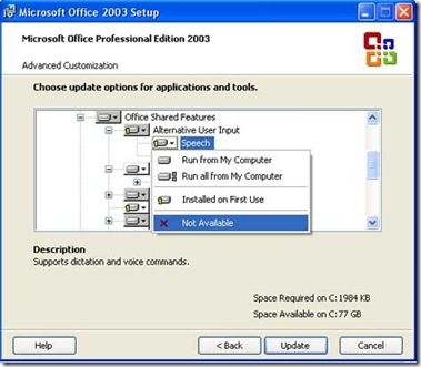 office-2003-setup-remove-speech