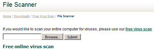 Check whether a file is infected by virus – TroubleFixers