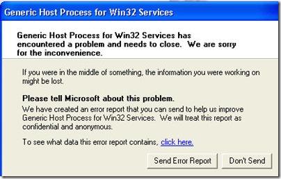 windows-generic-host-for-win32-error