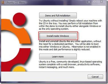 ubuntu-cd-menu