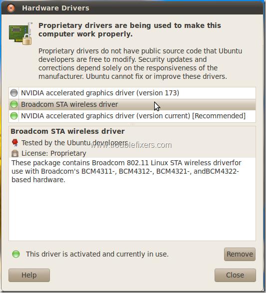 Solved] WiFi Not Working In Lucid Lyux or Ubuntu 10 04 On HP