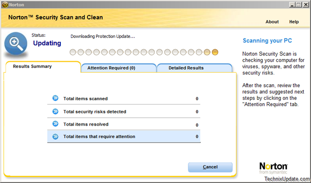 Remove / Repair Viruses With Free Norton Security Scan and